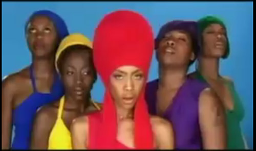 What does erykah badu bag lady song mean